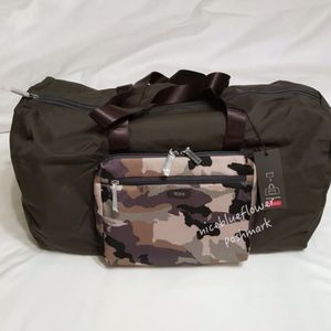 New! Tumi Just in Case Packable Duffle bag